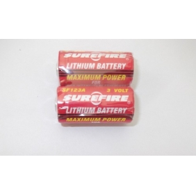 Wholesale SUREFIRE SF123A 3.0V Lithium Battery