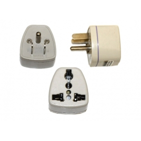 Wholesale All-purposed Adapter(2 flat pins + 1 round pins)