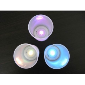 Wholesale Sensor LED 7 Color Change Flameless Candle light