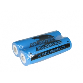 Wholesale PALIGHT BG 18650 2400mAh 3.7V li-ion Battery (2pcs)