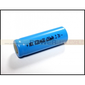 Wholesale ICR14430 650mAh 3.7V li-ion rechargeable battery (1pcs)
