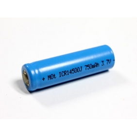 Wholesale Lithium li-ion battery 14500 3.7V 750mAh battery (1pc)