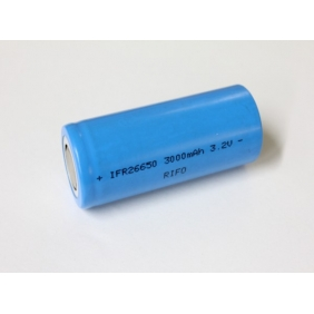 Wholesale LiFePO4 IFR26650 3.2V 3000mAh battery(2pcs)