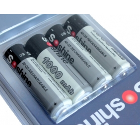 Wholesale Rechargeable Ni-MH AA 1000mAH