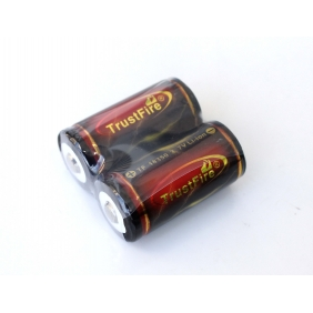 Wholesale TrustFire Protected 18350 3.7V 1200mAh Rechargeable Battery (2pcs)