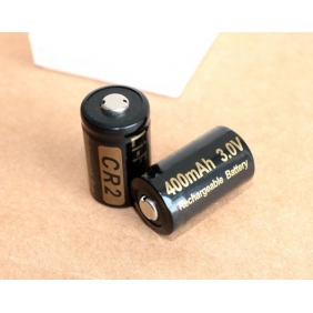 Wholesale Soshine CR2 Li-FePO4 Rechargeable 3.0V 400mAh Battery(2Pcs and battery box)