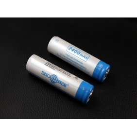 Wholesale Solarforce 18650 2400mah 3. 7v Rechargeable protected Battery Version II