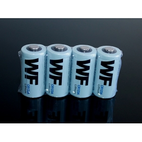 Wholesale WF CR123A 3.0V Lithium Battery (4-Pack)