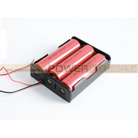Wholesale 18650 Battery junction box(3pcs)