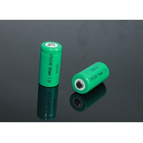Wholesale Soshine ICR16340 500mAh 3.2V Rechargeable Li-ion Battery (2pcs)