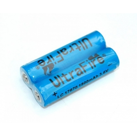 Wholesale Ultrafire LC17670 1800mAh 3.6V Rechargeable Li-ion Battery ( 2 pcs )