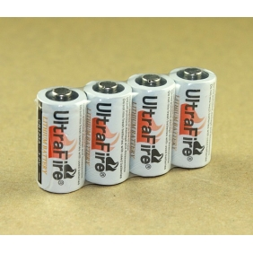 Wholesale Ultrafire CR123A 3.0V Disposable Li-ion Battery(2 pcs)