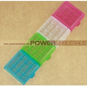 Wholesale Plastic Battery Case for 4xAA