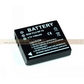 Wholesale 3.7v 1100 mAh NP-70 Battery for Fuji Finepix F20, F40FD, F45FD