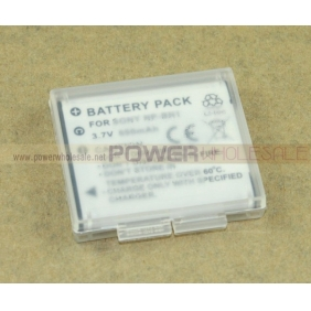 Wholesale Replacement Digital Camera 650 mAh Li-ion Battery for Sony NP-BN1