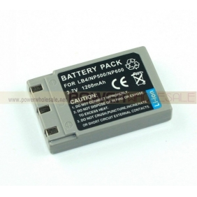 Wholesale KONICA MINOLTA DiMAGE G530 DR-LB4/NP-500/NP-600 Replacement Lithium-Ion Battery (1200 mAh)