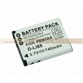 Wholesale NEW 740mah LI-ION Battery for Pentax D-L188
