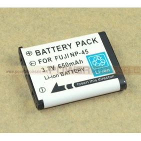 Wholesale FNP-45 NP-45 650mAh Battery For Finepix Fuji Nikon Pentax Olympus Digital Camera