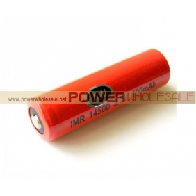 Wholesale AW IMR 14500 600mah 3.7V rechargeable battery