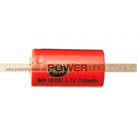 Wholesale AW IMR 18350 Rechargeable Safe Chemistry Battery