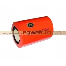 Wholesale AW IMR 26650 2300mah 3.7V rechargeable battery