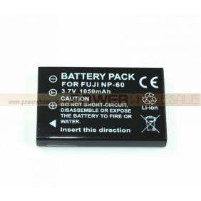 Wholesale 1050mah 3.7v li-ion Camera battery for FuJi NP-60