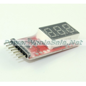 Wholesale Voltage Indicator for 2S-6S Li-Po batteries