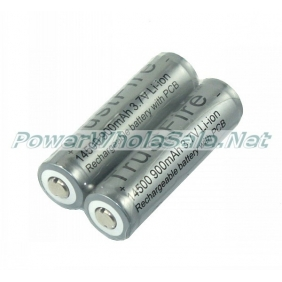 Wholesale TrustFire Gray 14500 900mAh 3.7V Li-ion Battery ( 2 pcs)