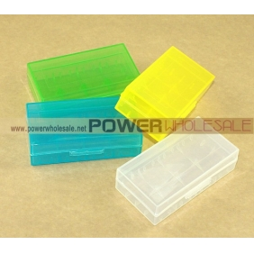 Wholesale 18650 clear battery case without Ultrafire logo
