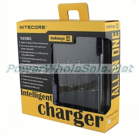 Wholesale Nitecore i4 charger Sysmax I4 V2 Intellicharge Battery Charger (US/EU/UK plug)