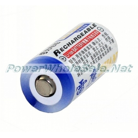 Wholesale SHAN VR123A 3.6V Rechargeable Li-ion Battery(2 pcs)