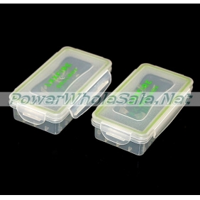 Wholesale 2 x 18650 Battery Plastic Waterproof Storage Case