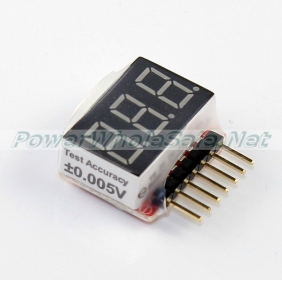 Wholesale Voltage Indicator for 1S-6S Li-Po batteries
