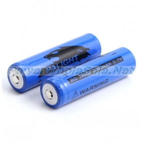 Wholesale PALIGHT BG 18650 2400mAh 3.7V Rechargeable li-ion Battery(2pcs)