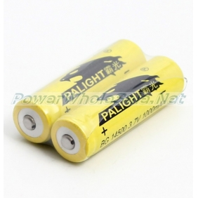 Wholesale Palight BG 14500 3.7V 1000mAh Rechargeable Li-ion Battery (2PCS)