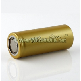 Wholesale ICR 26650E 4000mAh 3.7V Li-ion battery (2pcs)