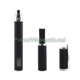Wholesale 2012 e-cigarette hottest 900mAh ego LCD+FP Starter Kit--black
