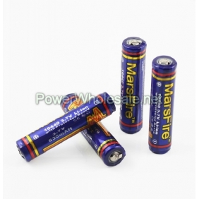 Wholesale MarsFire10440 630mAh 3.7V Protected Li-ion Battery(4pcs)