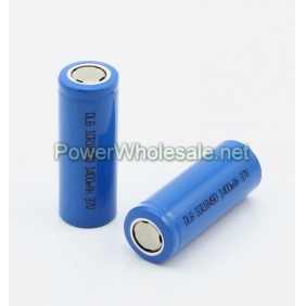 Wholesale DLG ICR18490 3.7V 1400mAh Li-ion Battery(2pcs)