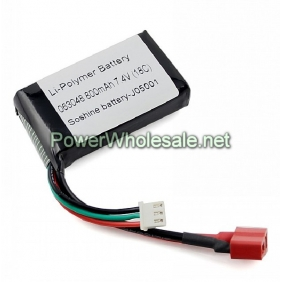 Wholesale Soshine 063048 7.4V 800mAh Li-Po battery