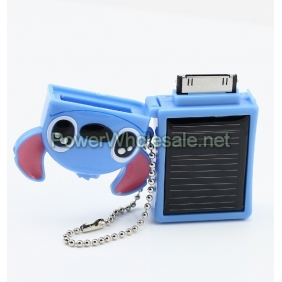 Wholesale Emergency Backup Protable Solar IPhone/Ipod charger Blue