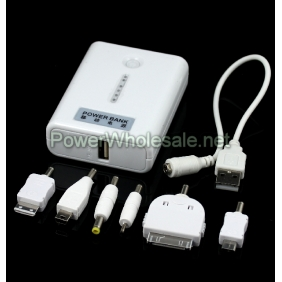 Wholesale Emergency Backup Portable Power Bank for all Phones/Iphones/Ipads/Ipods/Game players