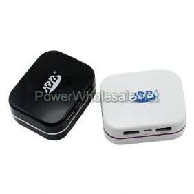 Wholesale JDB JP8001 5000mAh Double USB for Output Sockets Portable Mobile Power Supply