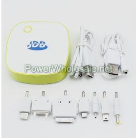 Wholesale JDB JP8005 6000mAh Double USB for Output Sockets Portable Mobile Power Supply