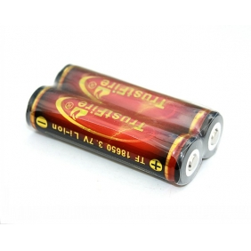 Wholesale Trustfire 18650 3000mAh 3.7V Protected Rechargeable li-ion Battery ( 2pcs )