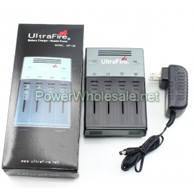 Wholesale UltraFire WF-128/Q-128 Charger compatible with 3.7V Li-ion batteries, such as 18650, 18500, 16340, 18350,  AA,  AAA ect.