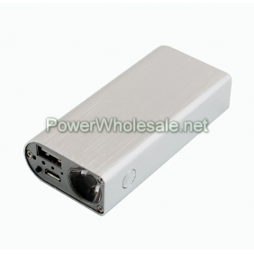 Wholesale Mobile Travel Portable Power Supply USB Battery Charger  with a LED flashlight