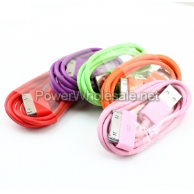 Wholesale For iphone.ipad, itouch USB colorful cable