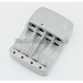 Wholesale Newest HG-1412F++ AA/AAA 1.2V/1.7V gray Battery Charger(EU /USversion)