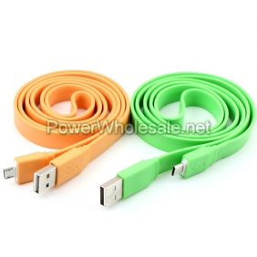 Wholesale Colorful Sync USB Data Cable For samsung
